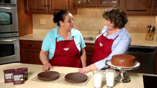 Old-fashioned Chocolate Cake Recipe From Hershey's Kitchens