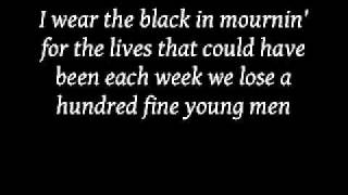 Johnny Cash - Man in black with lyrics