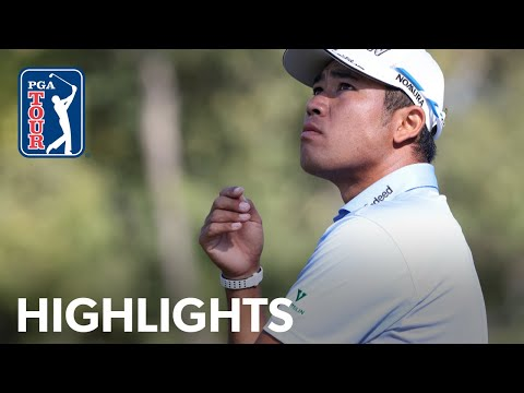 Best of Hideki Matsuyama's chip shots from Round 3 of Vivint Houston Open 2020