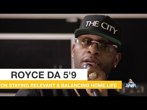Royce Da 5'9 on Balancing Making Music with Family Time While Being Sober
