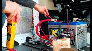 My Van Electrical is DIALED! Insulation....not so much // Singletrack Sampler Van Build (Ep. 2)