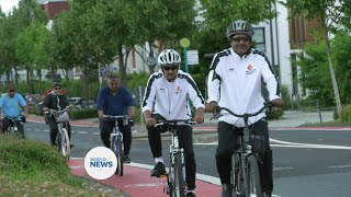 TI College members in Germany organise cycle ride