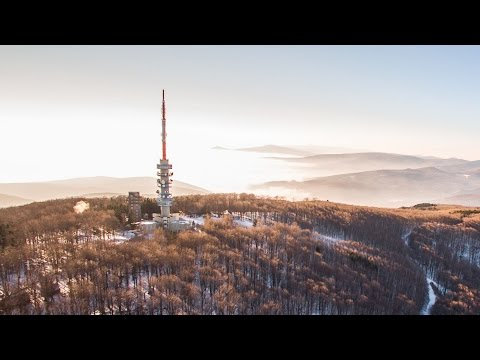Mátra, Kékestető - A felhők fölött - drónvideó
