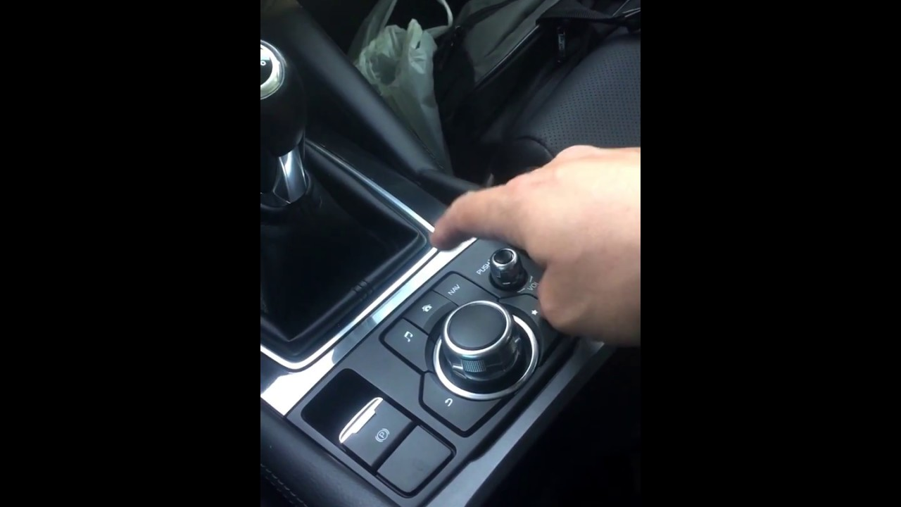 How to enable touch screen while driving Mazda infotainment