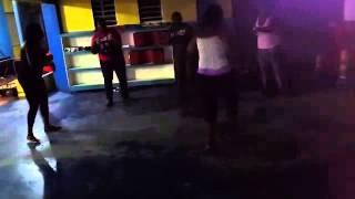 St. Eustatius Historical Gem Dancers at practice