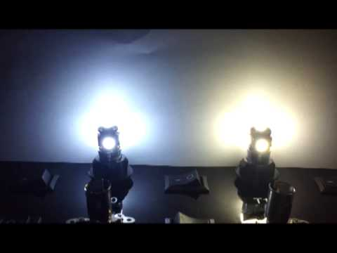 Led Headlights Vs Hid >> Confronto T10 5led canbus con dissipatore 5000k vs 6000k - YouTube