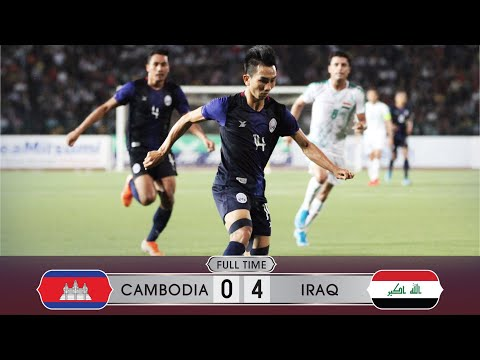 Cambodia 0-4 Iraq | FIFA World Cup Qualifiers | 15 October 2019 | Highlights