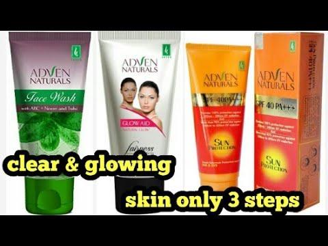 adven-naturals-face-wash-|-adven-naturals-spf-40-pa+++-|-adven-naturals-fairness-cream