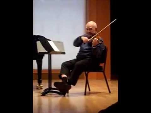 Joseph Silverstein on Teaching Vibrato - Masterclass