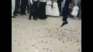Неудачное сальто на свадьбе