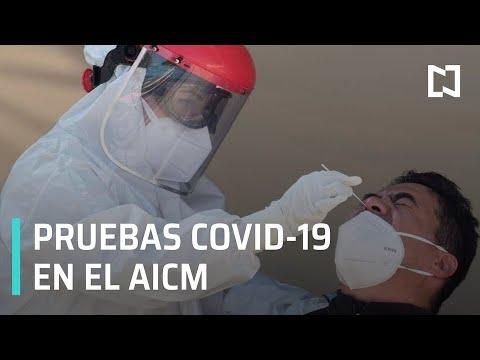 Instalarán en el AICM laboratorios para realizar pruebas COVID-19 - Expreso de la Mañana