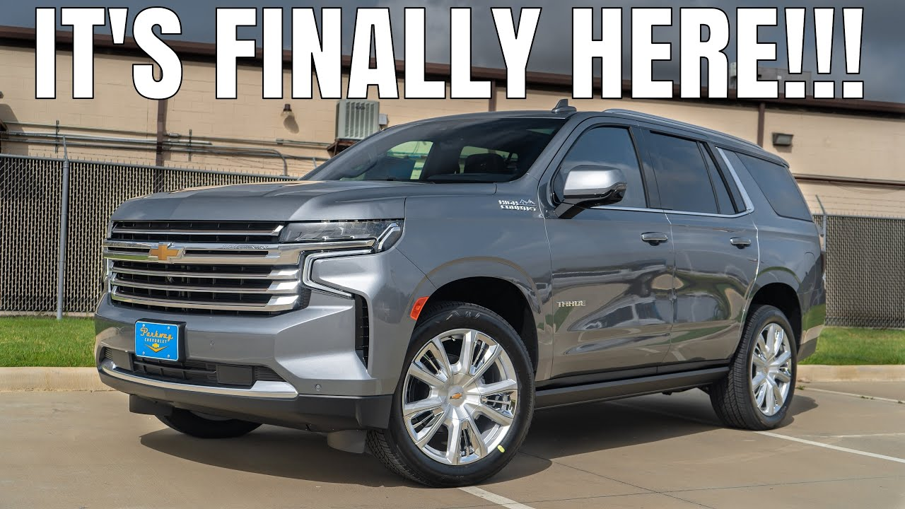 The 2021 Tahoe is HERE & Better Than EVER! 6.2L High Country Review