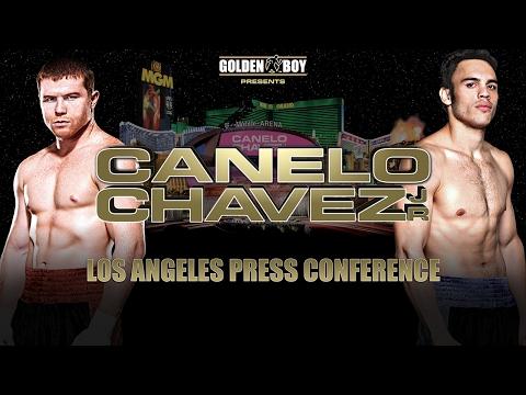 Image result for canelo vs chavez jr press conference