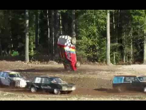 FolkRace PotatisRacet 10.10.2015 Crash Highlights Åland Finland Suomi