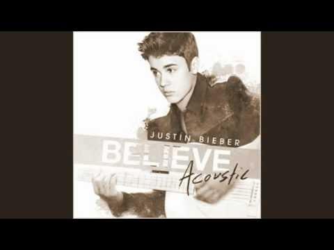 JUSTIN BIEBER BELIEVE (ACOUSTIC ALBUM)