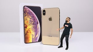 iPhone XS Max Unboxing (Gold 512GB)