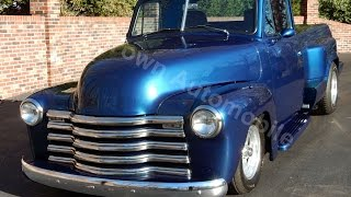 1950 Chevy RestoMod Truck for sale Old Town Automobile in Maryland