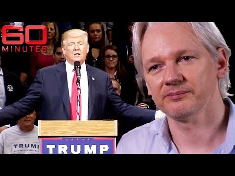 Did Wikileaks and Julian Assange win Donald Trump the presidency? | 60 Minutes Australia