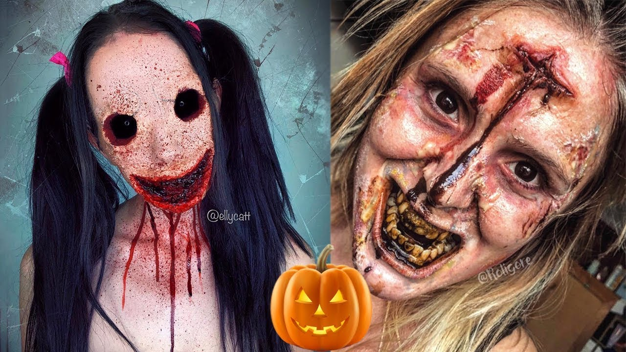 Scary Halloween Makeup Tutorials