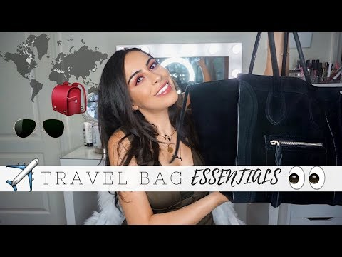 What's In My Travel Bag + Travel Essentials | NAGAM