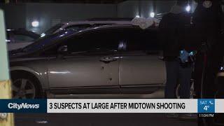 Toronto police investigate midtown shooting