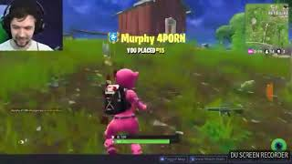 Jacksepticeye gets killed by murphy4porn in Fortnite battle royal