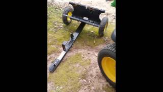 John Deere 8Y review cart trailer