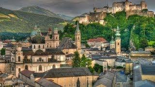 #318. Зальцбург (Австрия) (очень красиво)(Самые красивые и большие города мира. Лучшие достопримечательности крупнейших мегаполисов. Великолепные..., 2014-07-01T22:05:07.000Z)