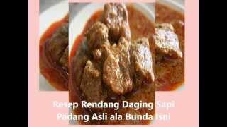 Video Resep Cara Membuat Rendang Daging Sapi Asli Padang, Enak download MP3, 3GP, MP4, WEBM, AVI, FLV Maret 2018
