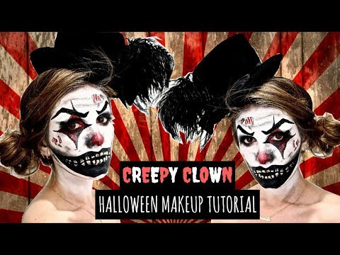 CREEPY CLOWN Halloween Makeup Tutorial + DIY Costume Ideas | SHENAE GRIMES-BEECH