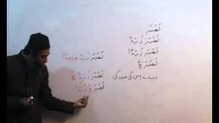 Arabi Grammar Lecture 31 Part 01 عربی  گرامر کلاسس