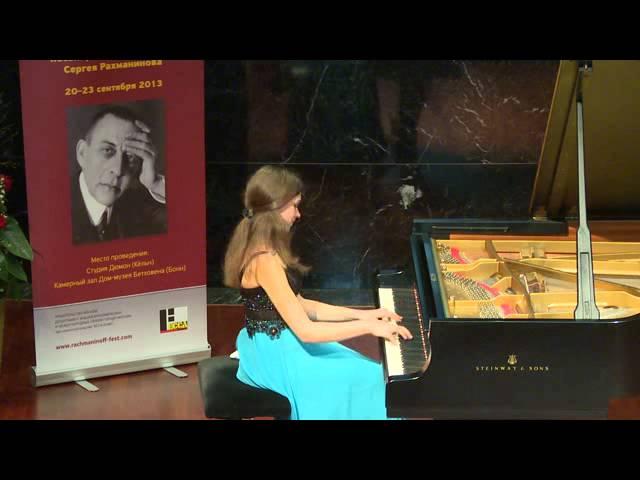 Marianna Storozhenko, 3rd Prize winner