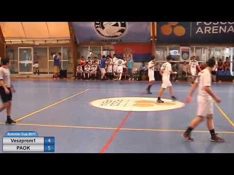 NBSC 2017. Boys 2001. HC Veszprem 1 - AC PAOK 18:17