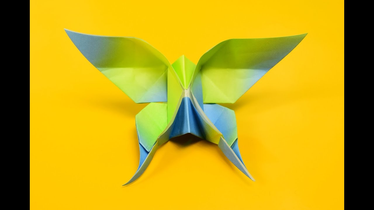 Swallowtail Butterfly Origami
