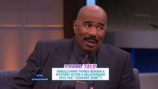 Straight Talk: Keeping Things a Secret || STEVE HARVEY