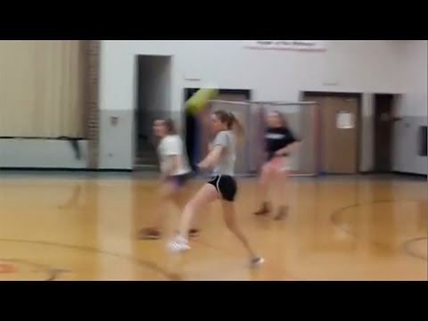 15-Year-Old Addison Slayback Tries to MURDER Teammates in Dodgeball Game