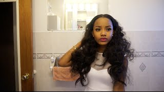 Hair | Bantu Knots on Weave