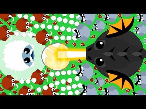 MOPE.IO ARCTIC ANIMALS ON LAND CHALLENGE! NEW ANIMAL WAR vs ARCTIC YETI & MAMMOTH (Mope.io Gameplay)