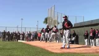 Spring Training - Miami Marlins 1st Day Pitchers & Catchers 2015