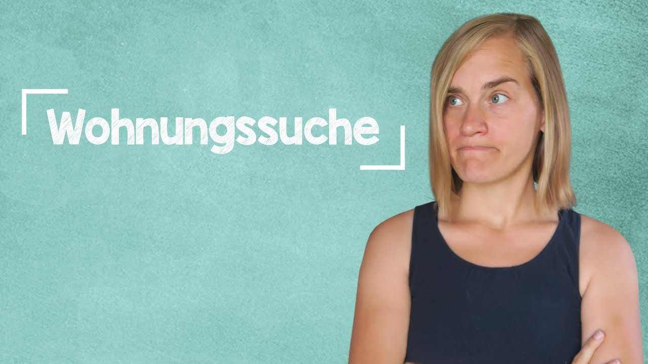 German Lesson 236  Apartment Hunting  Phrases  Listening