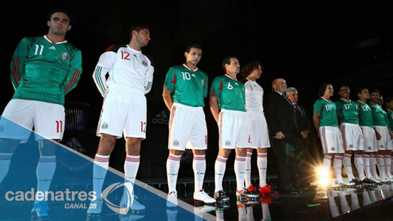 9680aebab458d Selección Mexicana presentó su nuevo uniforme - YouTube
