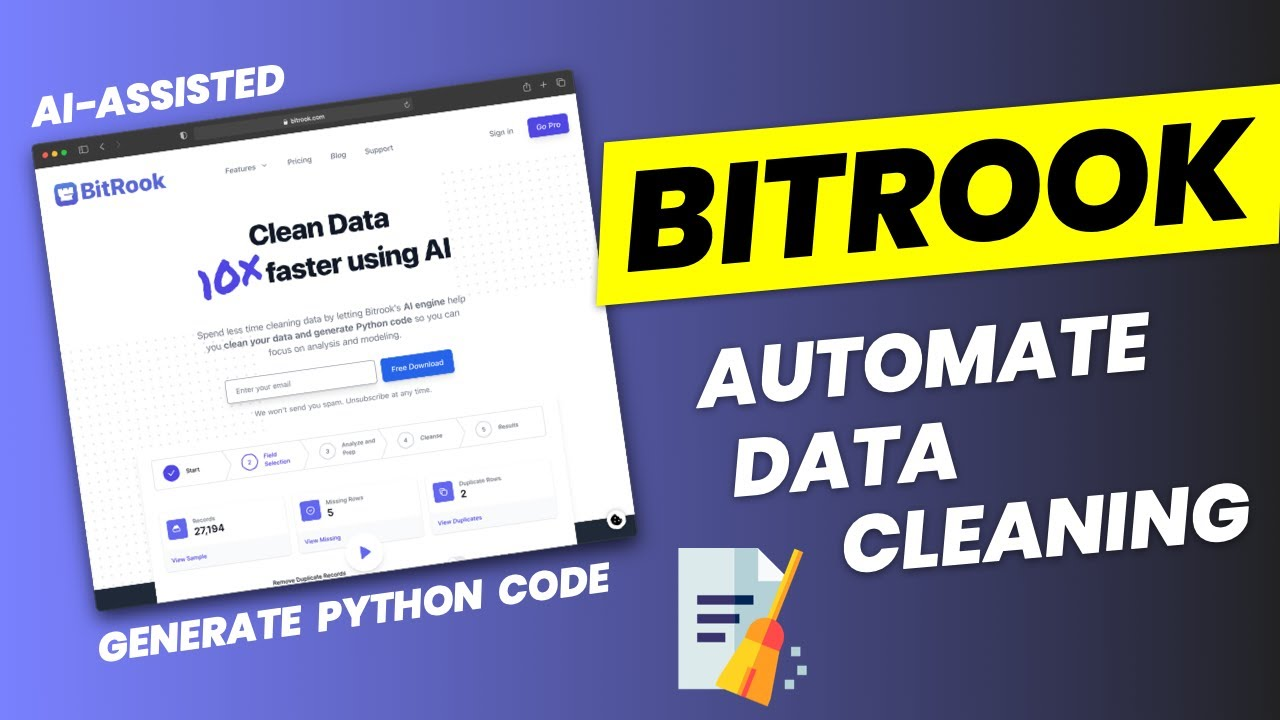 How to Automatically Clean Data with BitRook