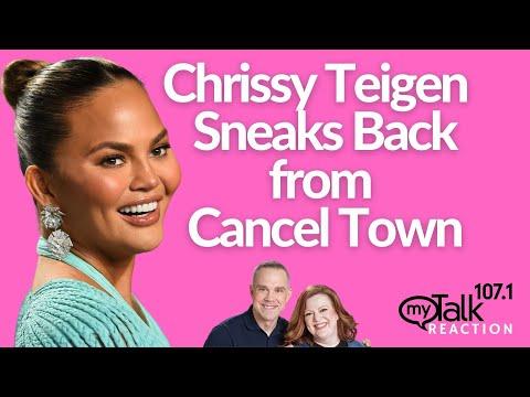Chrissy Teigen Sneaks Back From Cancel Town