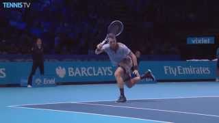 2015 Barclays ATP World Tour Finals: Tomas Berdych hot shot