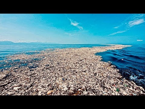Disgusting Mass of Plastic Waste Ruining the Caribbean Sea