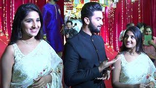 Kalyana Vaibhogam Serial Fame Meghana Lokesh And Srikar Krishna At Zee Kutumbam Awards 2021|NewsBuzz