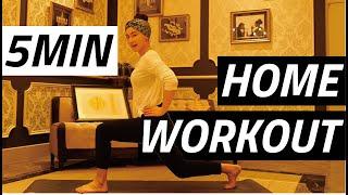 【5分トレーニング】自宅で出来る!長谷川京子ボディの作り方教えます