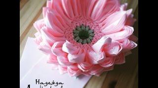 Декор праздничного стола. Лотос из салфеток или как красиво сложить салфетки.(Как сделать красивый цветок из салфеток для украшения праздничного стола? Просто! Подробная видео-инструкц..., 2015-07-13T05:11:19.000Z)