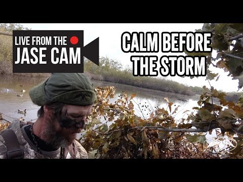 Jase Robertson Cam: Calm Before the Storm
