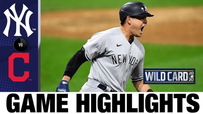 Yankees rally late to sweep Indians, advance to ALDS | Yankees-Indians Game 2 Highlights 9/30/20